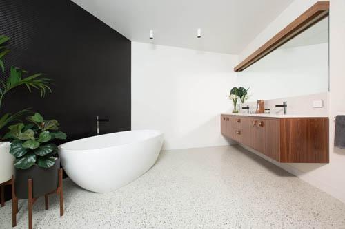 dm terrazzo bathroom